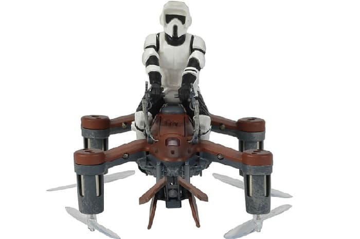 PROPEL STAR WARS COLLECTORS EDITION SPEEDER BIKE - BATTLE DRONES