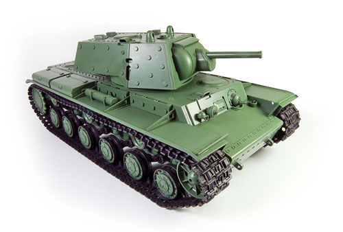 1/16 Russian KV-1 Radio Controlled (RC) Tank With Smoke Sound