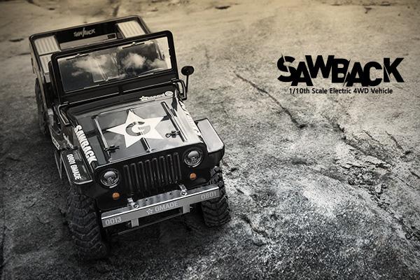 Gmade Sawback 1/10 Scale RC Crawler Kit