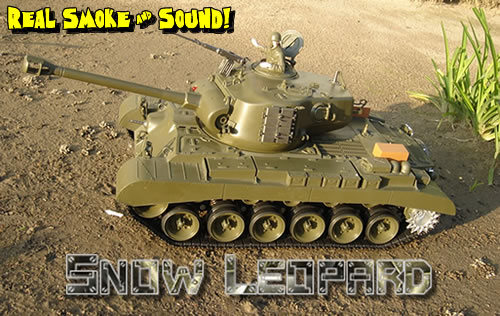 1/16 M26 Pershing Snow Leopard BB Radio Controlled RC Tanks 3838