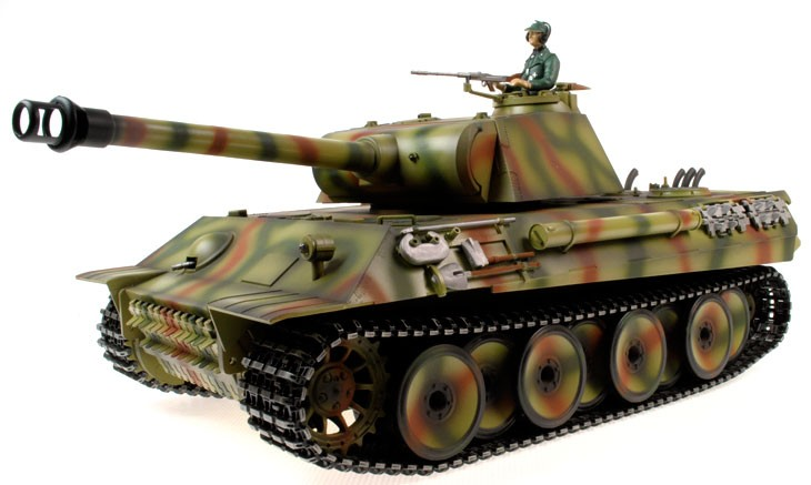 Taigen Hand Painted RC Tanks - Metal Upgrade - Panther