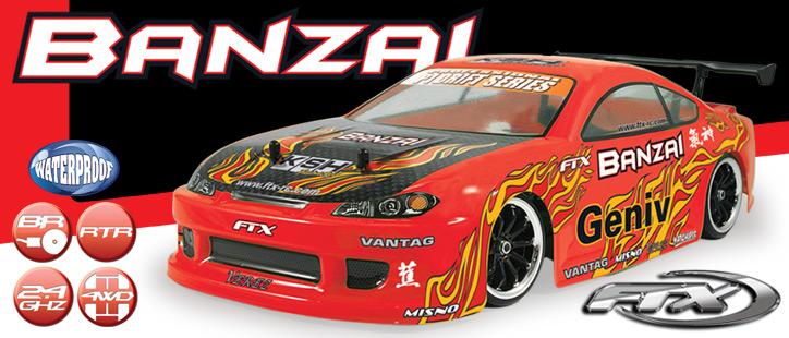 FTX BANZAI DRIFT CAR