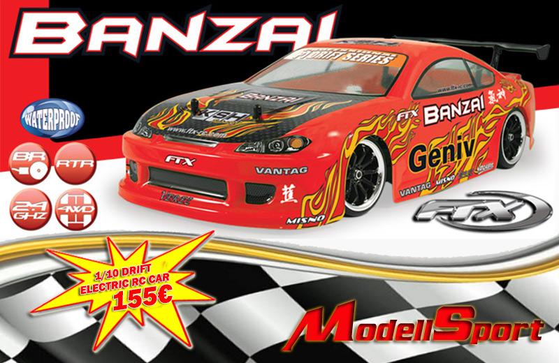 FTX BANZAI DRIFT RC CAR