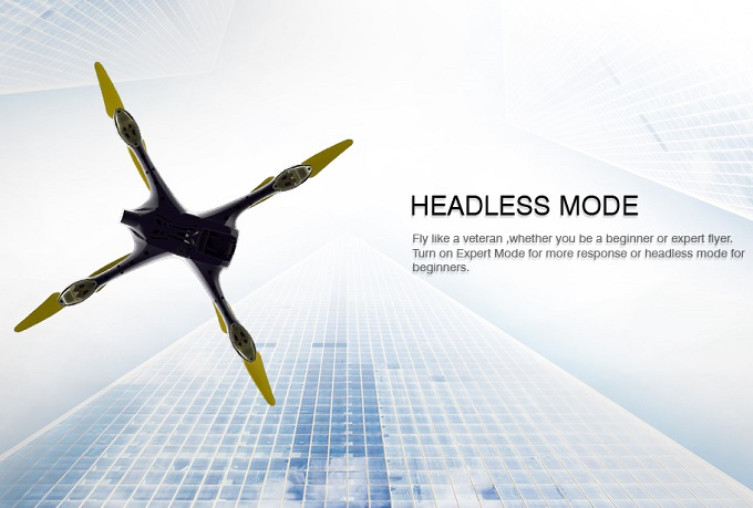Hubsan H507A Headless Mode
