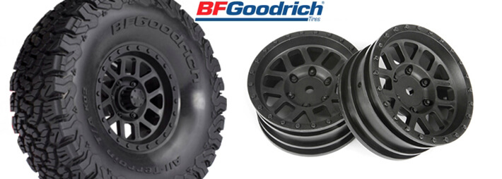1.9 BFGoodrich All-Terrain T/A KO2 Tires and Method Mesh Wheels