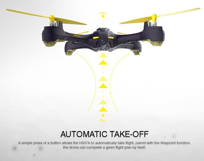 Hubsan H507A - Automatic Take Off