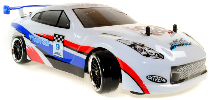 Phantom Nissan Gt R Style Brushless Remote Controlled Drift Car