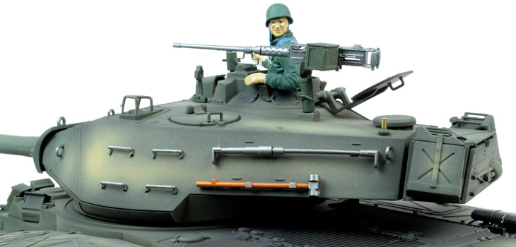 Taigen Hand Painted RC Tank - Metal Upgrade - Bulldog